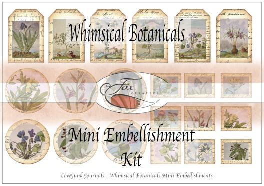 Mini Embellishment Whimsicals Title